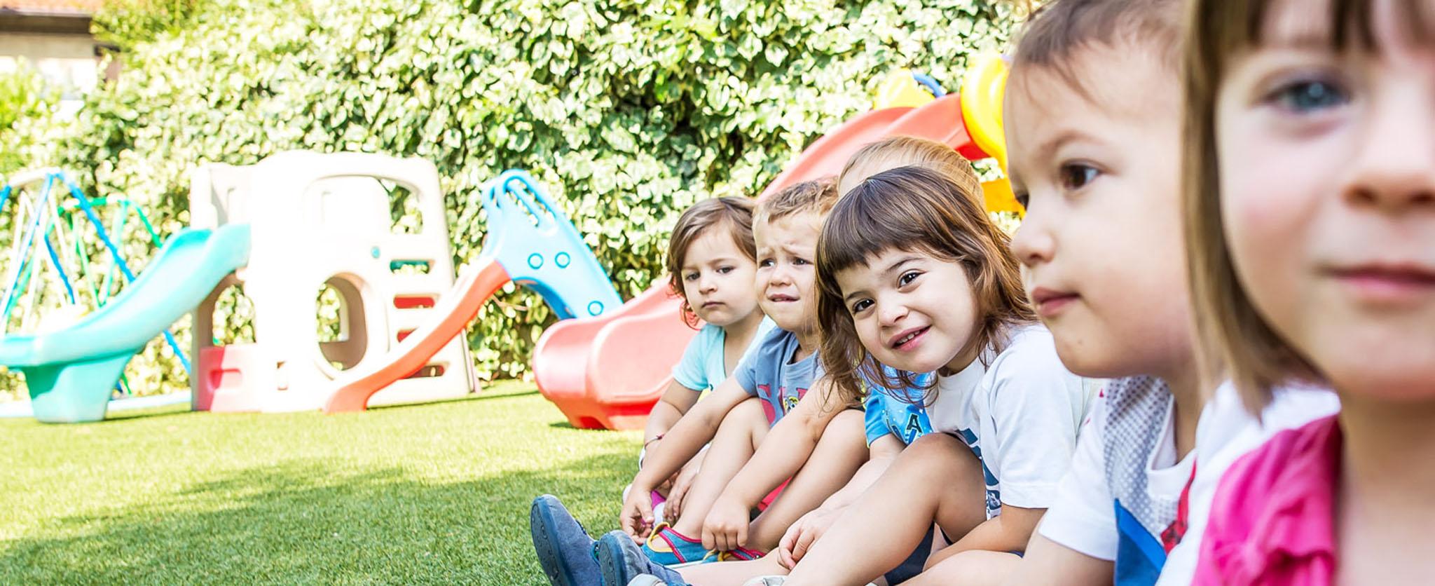 Attività ludiche dell'asili nido e scuola dell'infanzia GEIS